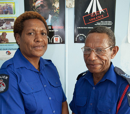 Police-officers-Peter-and-Malen-Waigani-Family-and-Sexual-Violence-Unit-DFAT-Ness-Kerton